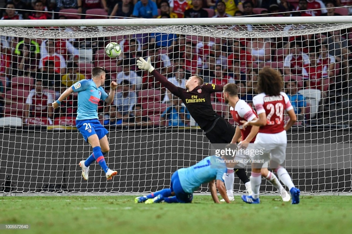 Atletico Madrid 1-1 Arsenal: Gunners impress in Singapore despite defeat