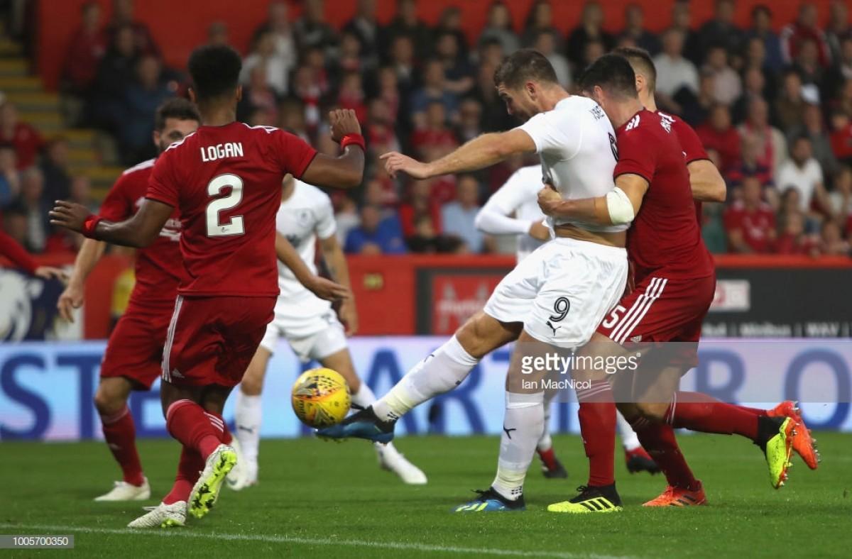 Aberdeen 1-1 Burnley: Honours even after enthralling Europa League tie