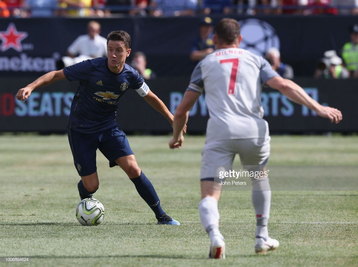 Herrera reveals pride at captaining Manchester United in USA