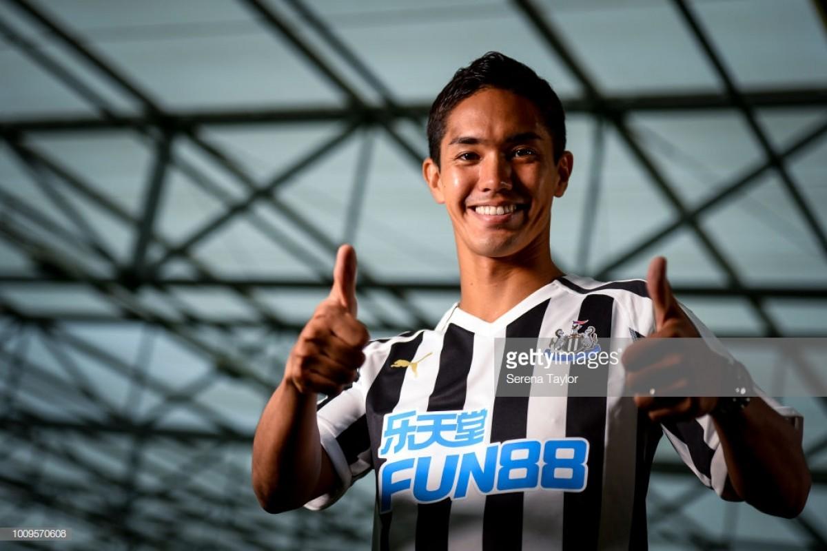 Newcastle United sign Japanese forward Yoshinori Mutō from Mainz 05