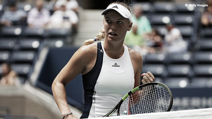 Caroline Wozniacki surpreende Madison Keys e avança às quartas de final do US Open