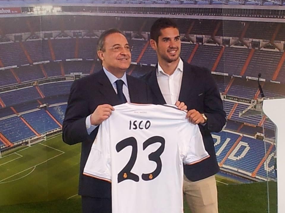 Presentación de Isco por el Real Madrid, así lo vivimos