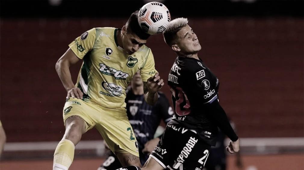 Copa libertadores: Empate en Quito