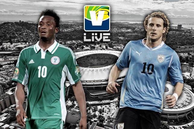 Nigéria - Uruguai, assim acompanhamos