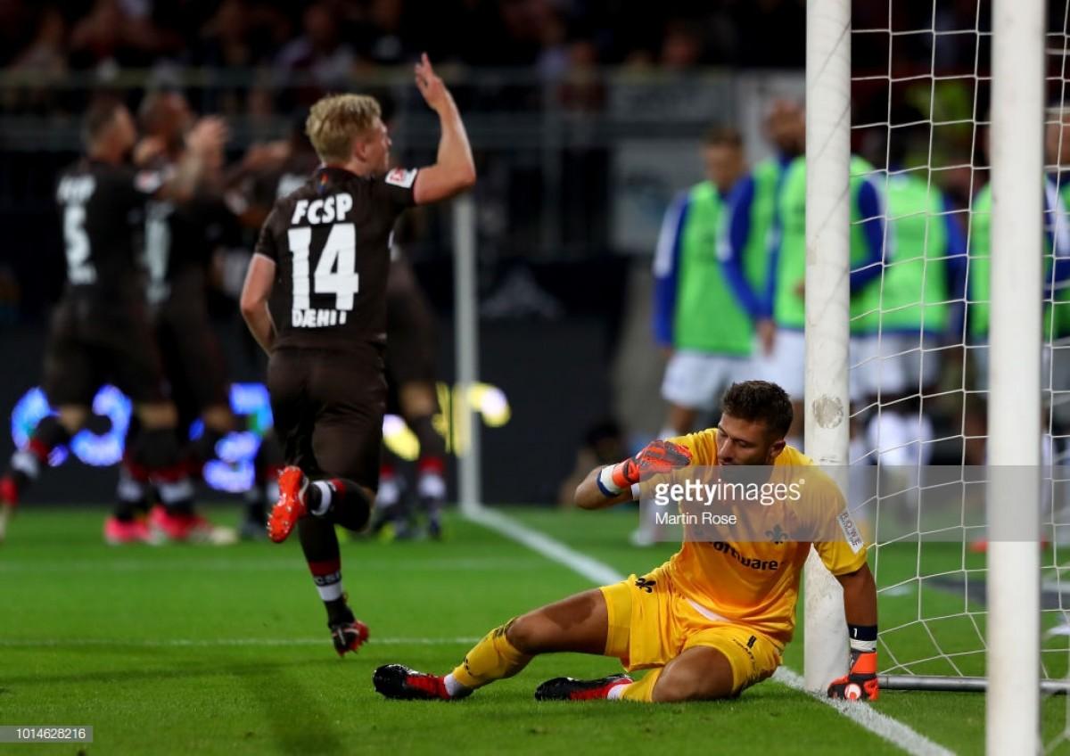 FC St. Pauli 2-0 SV Darmstadt 98: Kiezkicker beat Lillies to make it two wins out of two