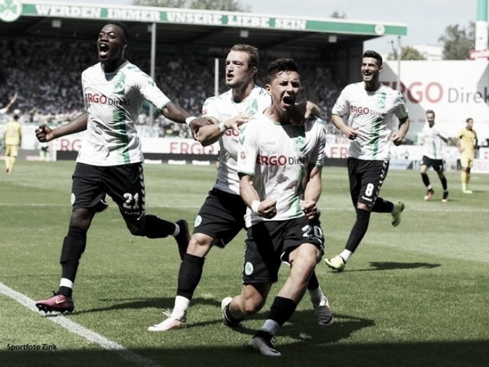 Greuther Fürth é superior e derrota 1860 Munique no derby da Baviera