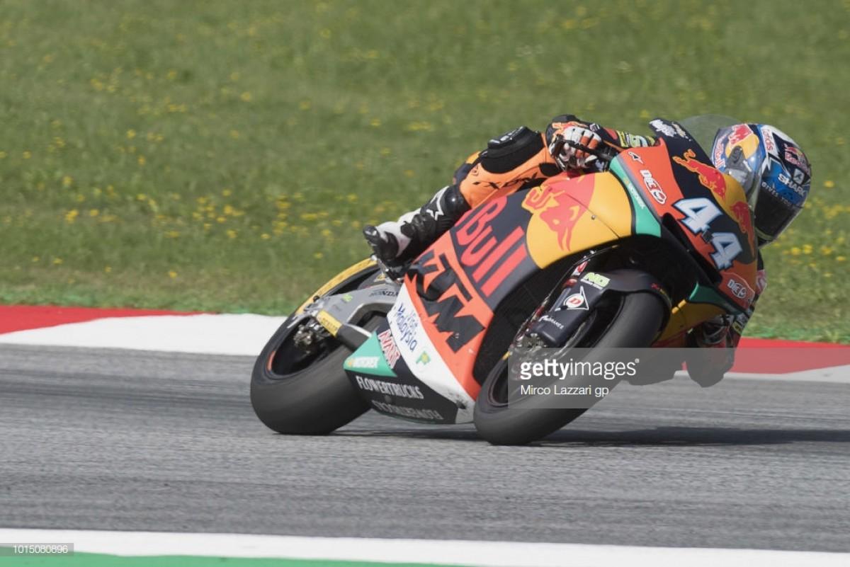 Miguel Oliveira faz 2.º lugar no GP da Áustria