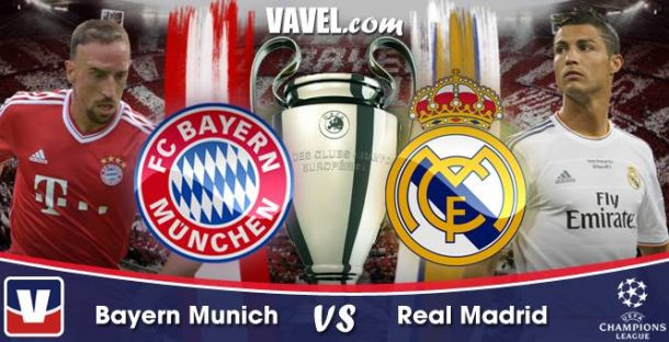 Live Champions League : le match Bayern Munich - Real Madrid en direct