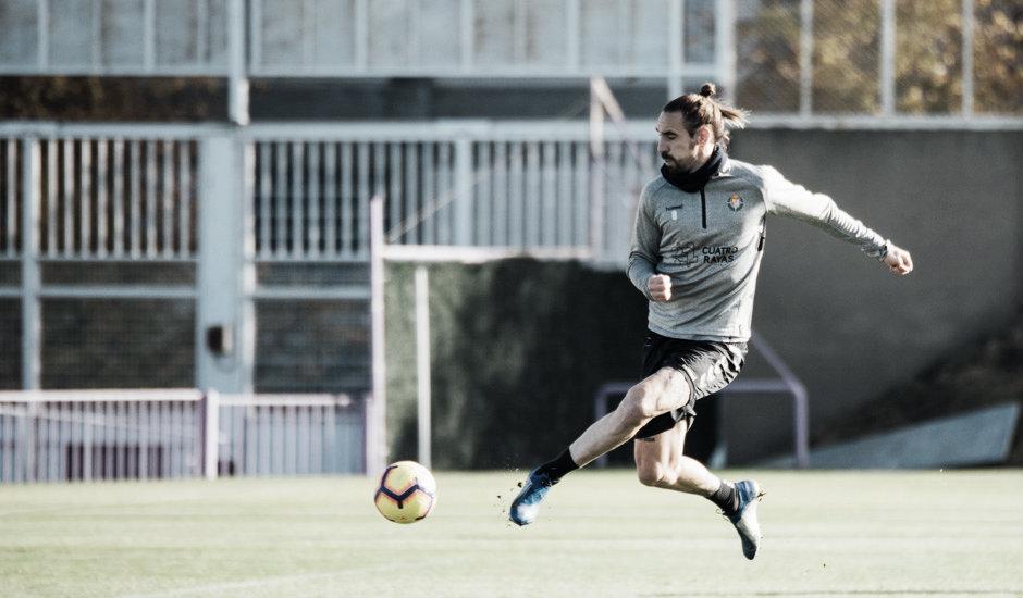 Sin tiempo para el lamento, el Real Valladolid ya piensa en el doble compromiso de esta semana