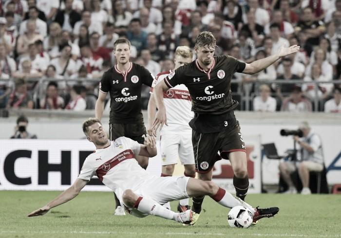 Stuttgart vira no fim e derrota St. Pauli na 2. Bundesliga