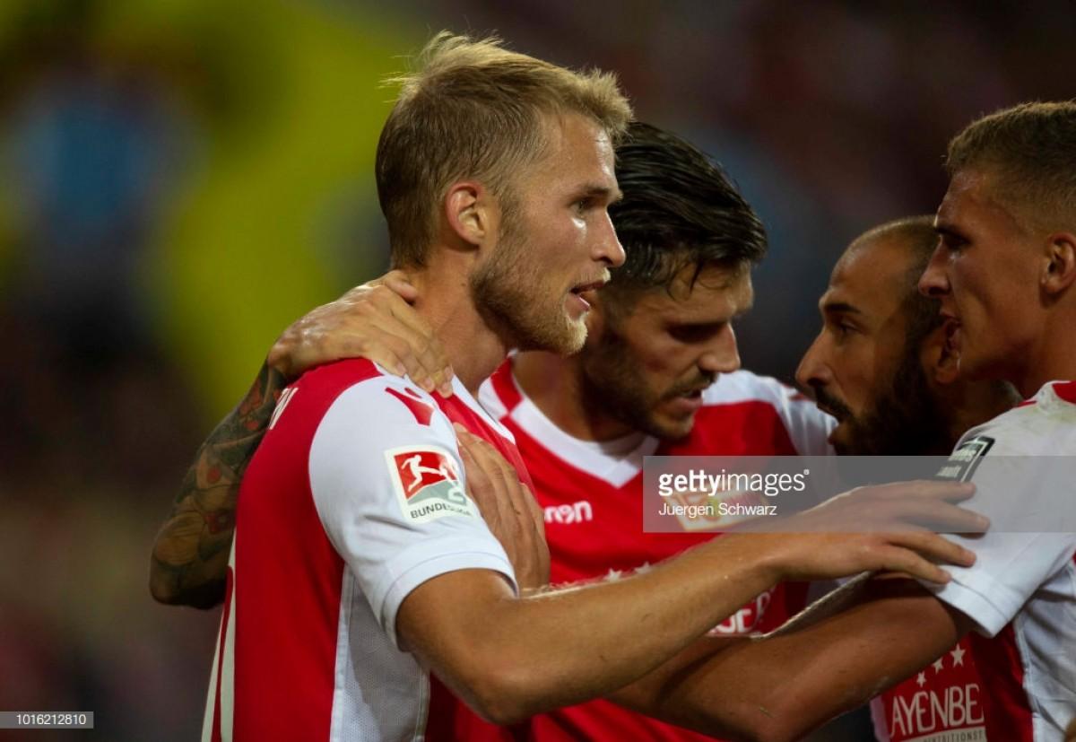 1. FC Köln 1-1 1. FC Union Berlin: Sebastian Andersson's earn Eisern point in breathless match