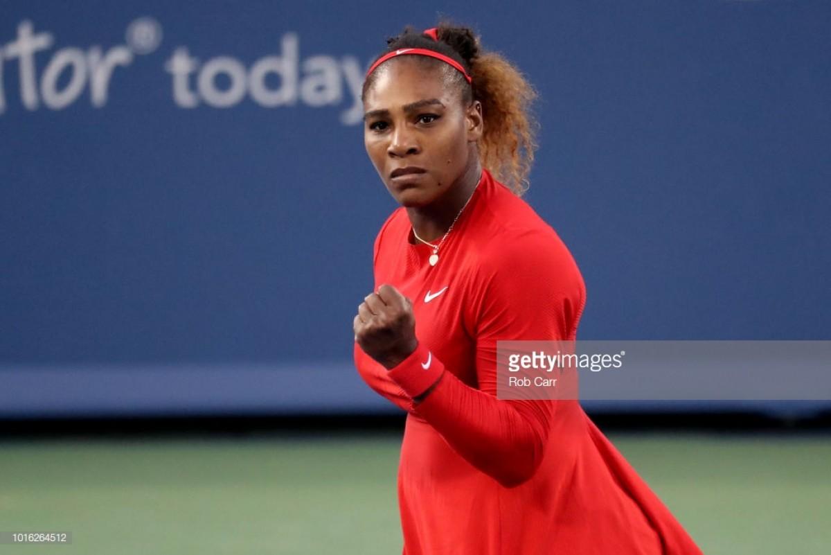 WTA Cincinnati: Serena Williams dominates Daria Gavrilova