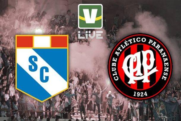 Sporting Cristal x Atlético-PR, Copa Libertadores
