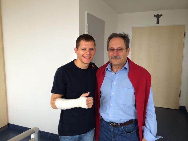 MotoGP, operazione al braccio destro per Stefan Bradl