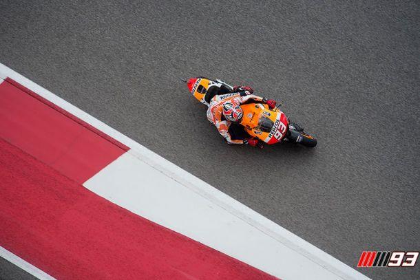 Marquez imprendibile, dominio Honda con Pedrosa e Bradl