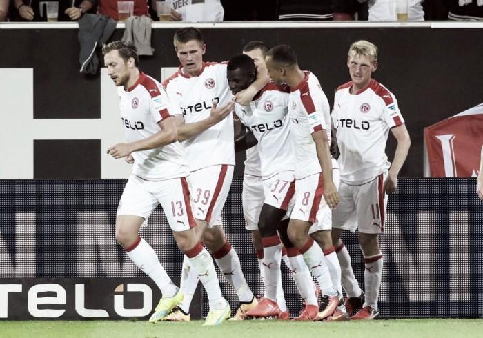 Bebou marca e Düsseldorf derrota Stuttgart na abertura da 2. Bundesliga