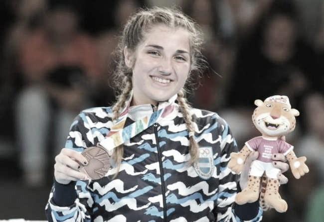 A un año del bronce de Victoria Saputo en Buenos Aires 2018