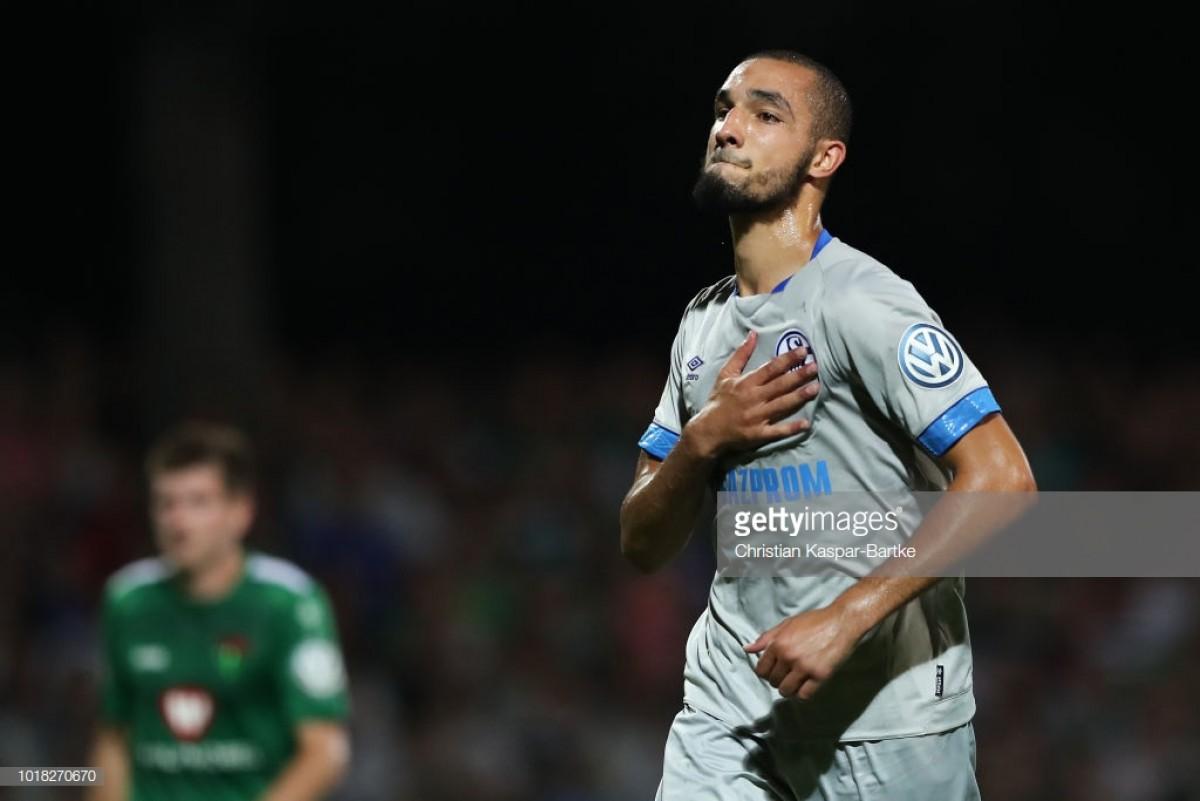 1. FC Schweinfurt 05 0-2 Schalke 04: Royal Blues first Bundesliga team to progress in Pokal