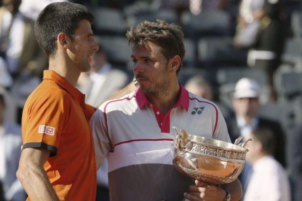 Roland Garros: Wawrinka è maestoso, Djokovic umano
