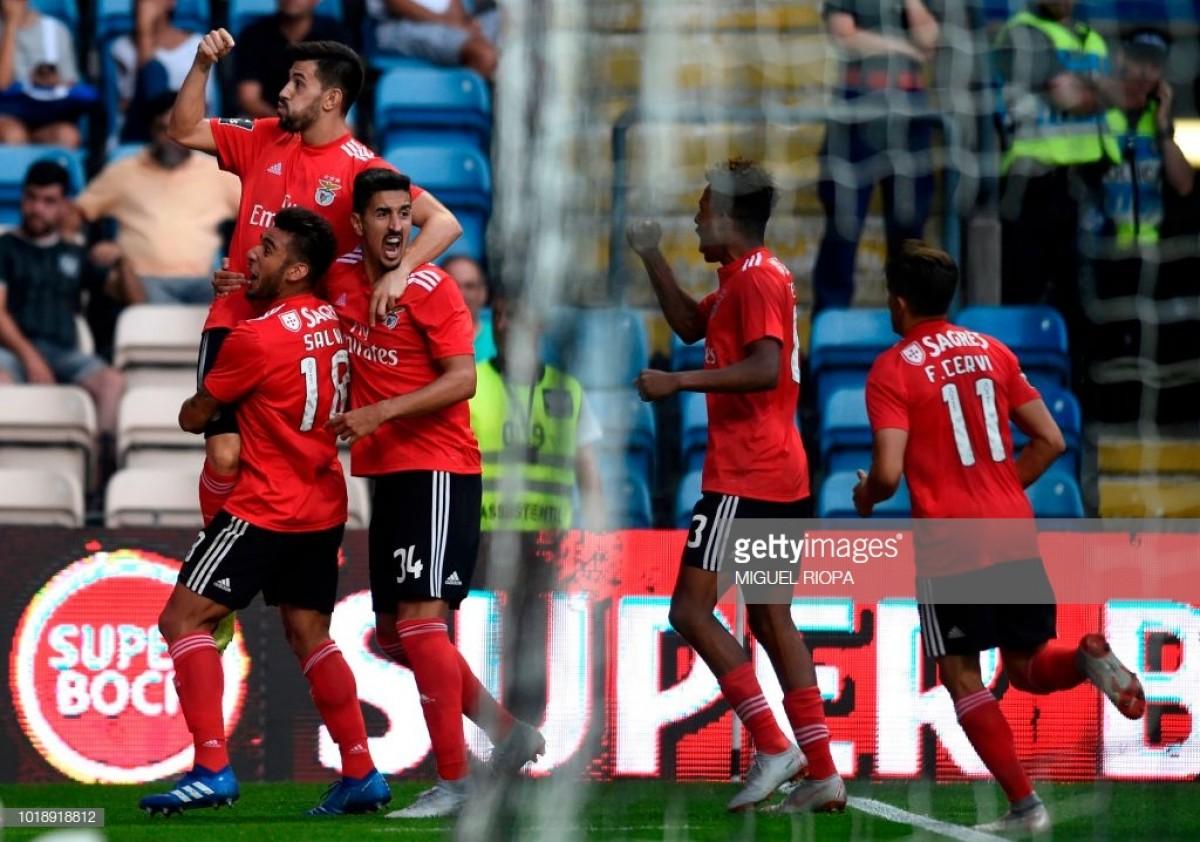 Benfica vence Boavista por 2-0 antes do derby na Luz