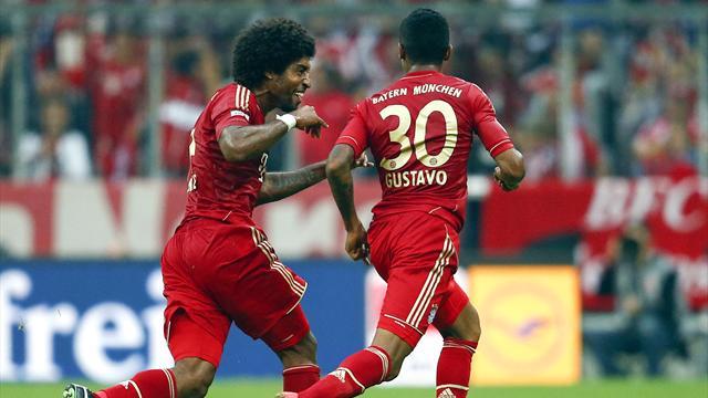 Bayern cede à pressão da CBF e libera Dante e Luiz Gustavo