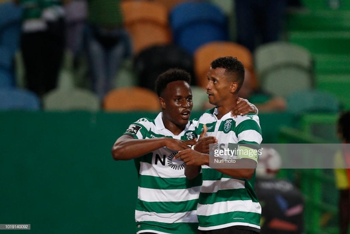 Sporting bate Vitória de Setúbal em Alvalade (2-1)