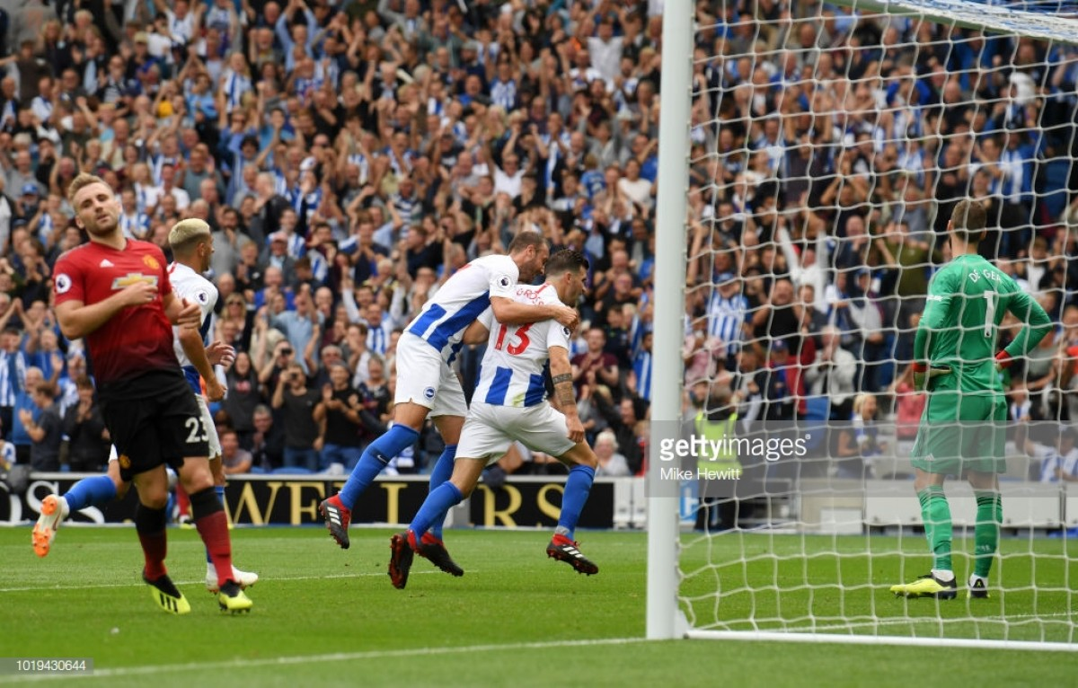Brighton & Hove Albion 3-2 Man United: Reds' defensive problems exposed by brave Seagulls