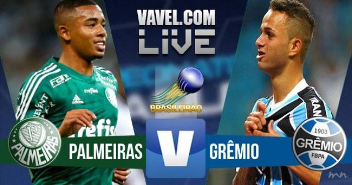 Resultado Palmeiras x Grêmio no Brasileirão 2016 (4-3)