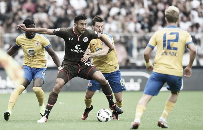 Braunschweig bate St. Pauli e conquista a segunda vitória na 2. Bundesliga