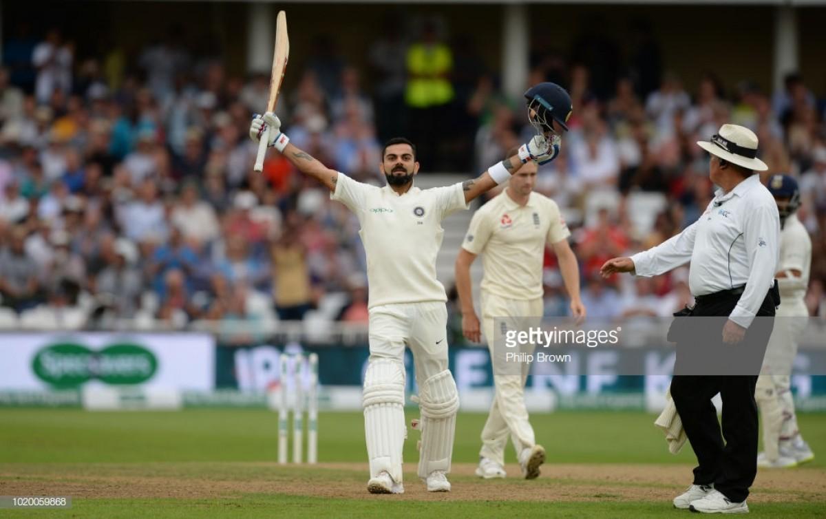Virat Kohli's century puts India in control of third Test against England