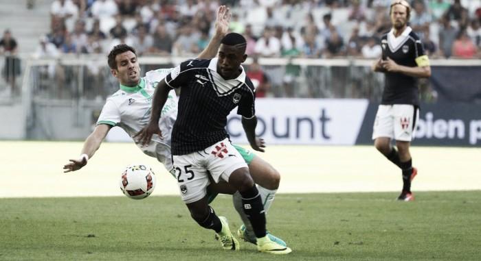 Malcom marca e Bordeaux supera Saint-Étienne em jogo de cinco gols