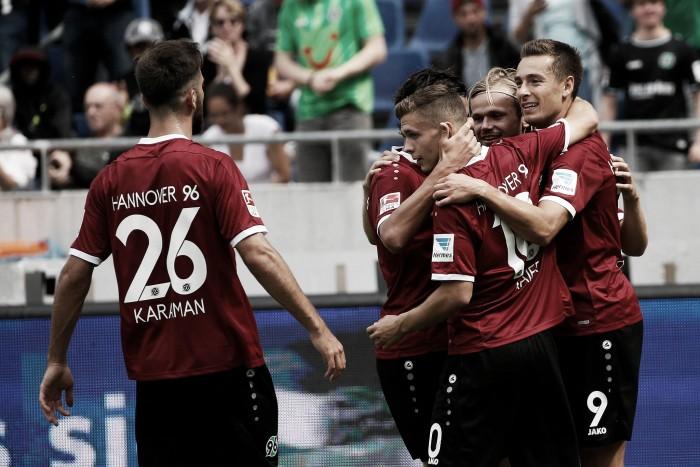 Em jogo movimentado, Hannover derrota GreutherFürth  pela 2. Bundesliga