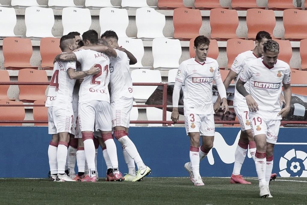 El Mallorca logra su tercera victoria consecutiva (0-1)
