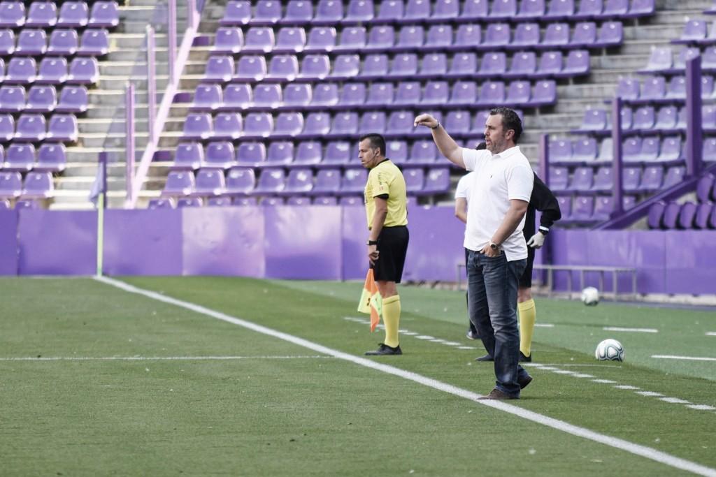 Análisis del técnico del Real Valladolid