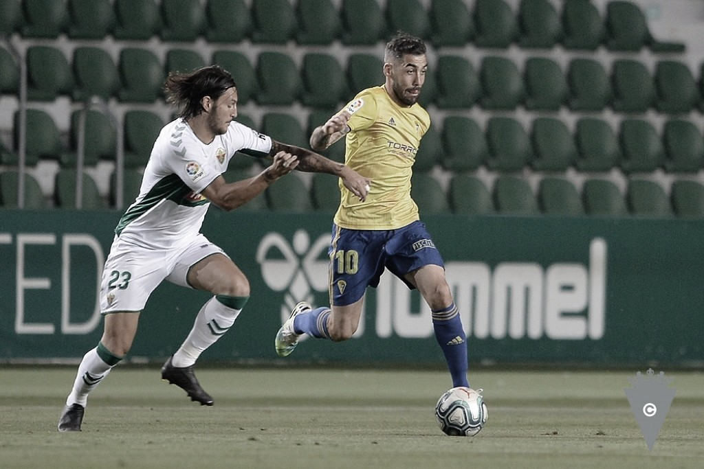 Elche y Cádiz ya se vieron las caras en Segunda División<div>www.cadizcf.com</div>