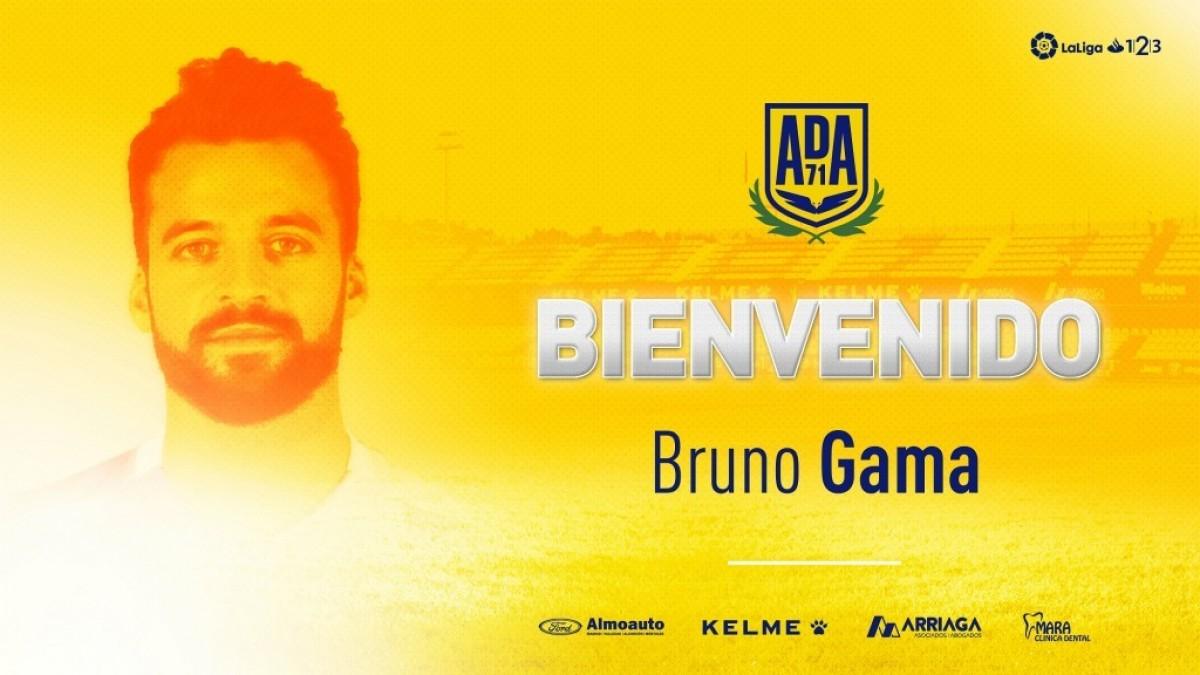 Bruno Gama, flamante nuevo jugador del Alcorcón