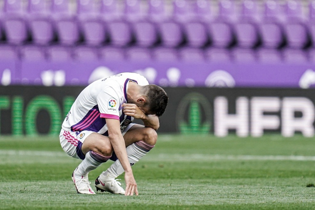 Puntuaciones del Real Valladolid en la temporada 2020/21 de LaLiga Santander