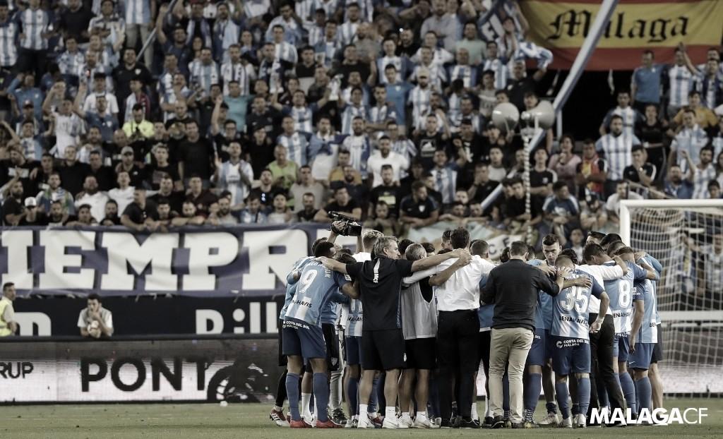 El Málaga conoce el calendario de la temporada 2019/20