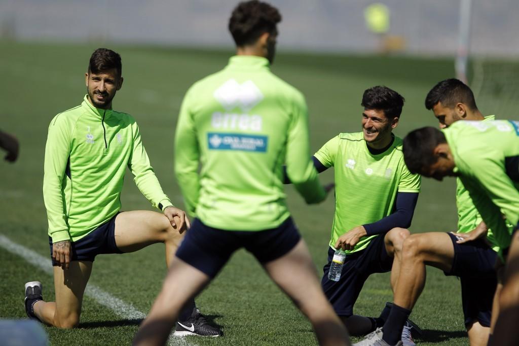 Cinco entrenamientos para preparar el choque ante la UD Las Palmas