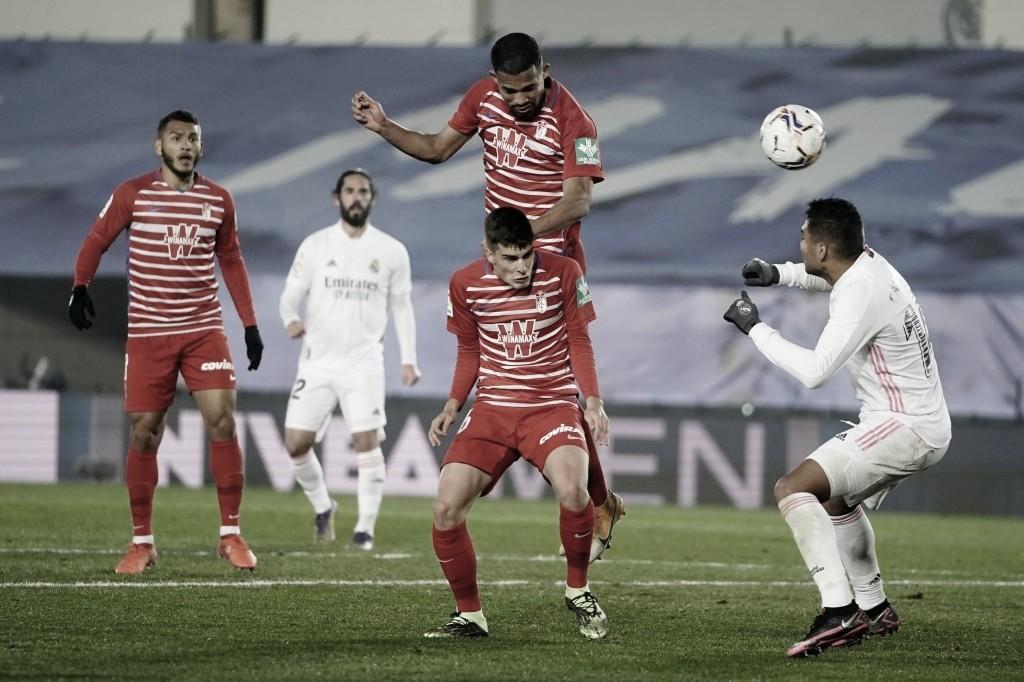El Granada CF lucha en el Di Stéfano