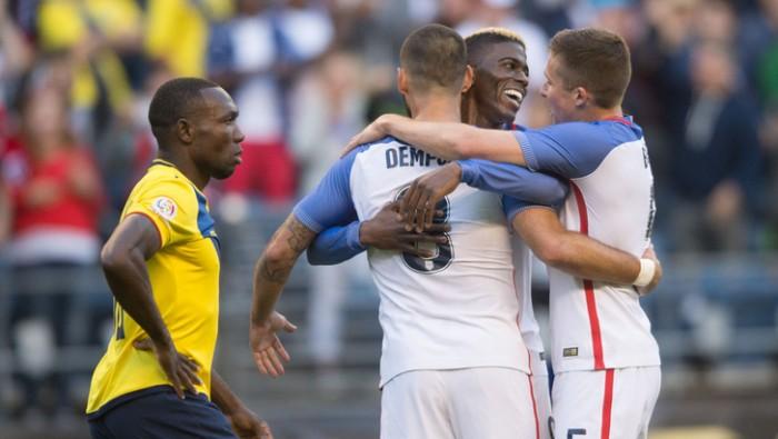 Copa America Centenario, gli Stati Uniti volano in semifinale: 2-1 all'Ecuador