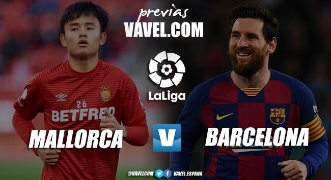 Previa RCD Mallorca vs FC Barcelona: vuelve el líder