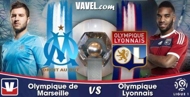 Live Ligue 1 : Marseille - Lyon, le match en direct