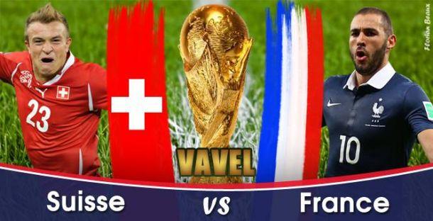 Live Suisse - France en direct