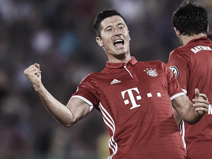 Lewandowski marca três vezes e Bayern atropela Carl Zeiss Jena pela DFB Pokal