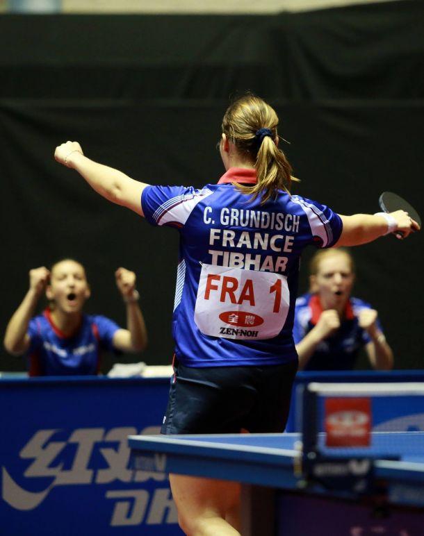 Tennis de Table : Début parfait pour la France