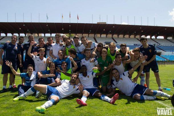 El Real Zaragoza B asciende a Segunda B