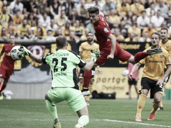 Dynamo Dresden vence RB Leipzig nos pênaltis e se classifica na DFB Pokal