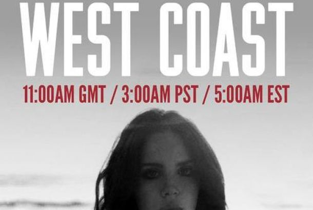 Lana del Rey estrena nuevo single: 'West Coast'