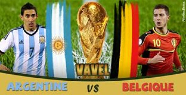 Live Coupe du monde 2014 : le match Argentine - Belgique en direct
